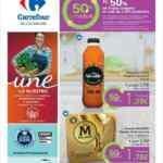 Folleto Carrefour 50% que Vuelve del 17 al 29 de junio 2021