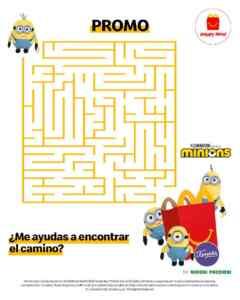 Sorteo McDonalds: gana 1 de 20 peluches Minions de Famosa