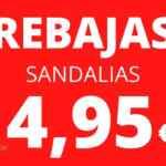 Rebajas Pianno 39: sandalias y chanclas de verano desde 2,95€