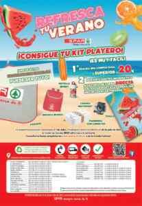 Promoción Spar Refresca tu Verano 2021: Gana un kit playero