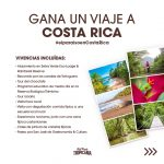 Sorteazo Tropicania: Gana viaje a Costa Rica de 9 días valorado en 7.500€