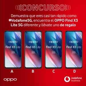 Sorteo Vodafone: Gana un OPPO Find X3 Lite 5G