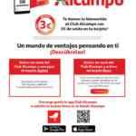 Folleto Club Alcampo 4 al 17 de agosto 2021