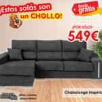 Tiendas el Castor chollos en sofás desde 99€