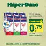 Ofertas HiperDino del 24 de agosto al 8 de septiembre 2021
