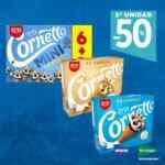 Hipercor el Corte Inglés: -50% de descuento en la segunda unidad en helados