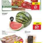 Folleto Lidl Alimentación 19 al 25 de agosto 2021