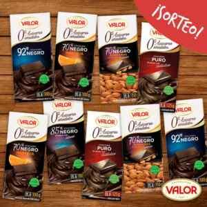 Gana 1 de 5 lotes de Chocolates Valor