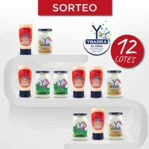 Sorteo Ybarra: Gana 1 de 12 lotes de productos