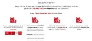 Promoción Coca-Cola 2021 A Por la Vuelta al Cole: Introduce tu ticket y gana tarjetas VISA en aporlavueltaalcole.es