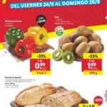 Folleto Lidl Alimentación 23 al 29 de septiembre 2021