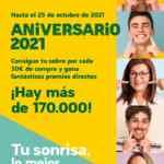 Folleto HiperDino Aniversario 2021 del 8 al 21 de octubre