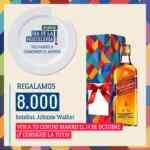 Promoción Makro Día de la Hostelería: botella de Johnnie Walker de regalo en compras de 50€ sólo hoy