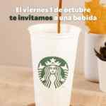 Starbucks Día Internacional del Café 2021: bebida GRATIS si llevas un vaso reutilizable