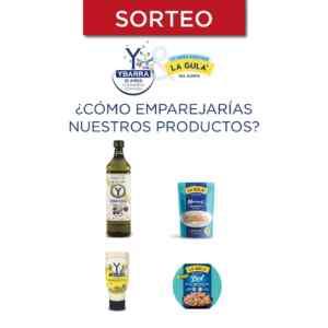 Gana 1 de 10 lotes de productos Ybarra y La Gula del Norte